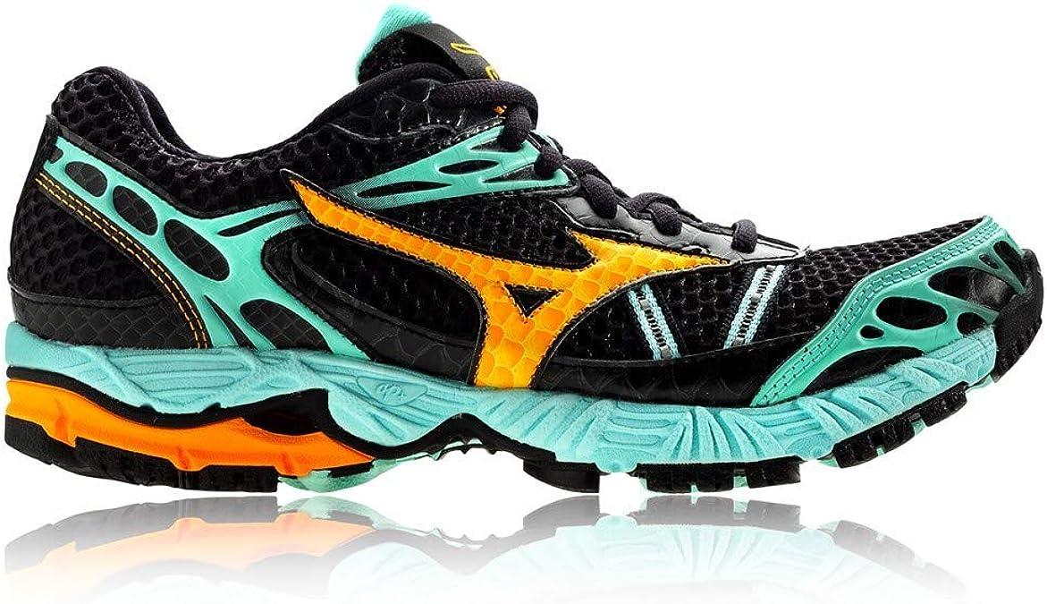MIZUNO Wave Ascend 7 Zapatilla de Trail Running Señora, Negro/Azul, 41: Amazon.es: Zapatos y complementos