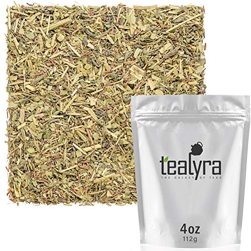 Tealyra - Keep Fit - Mate - Lemongrass - Matcha Green Tea - Herbal Fitness Loose Leaf Tea Blend - Health Tonic - Supports Healthy Weight Loss - Antioxidants rich - Low Caffeine - 112g (4-ounce)