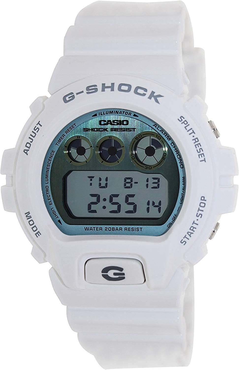 G-Shock Men s 6900 Watch One Size White Watch Casio