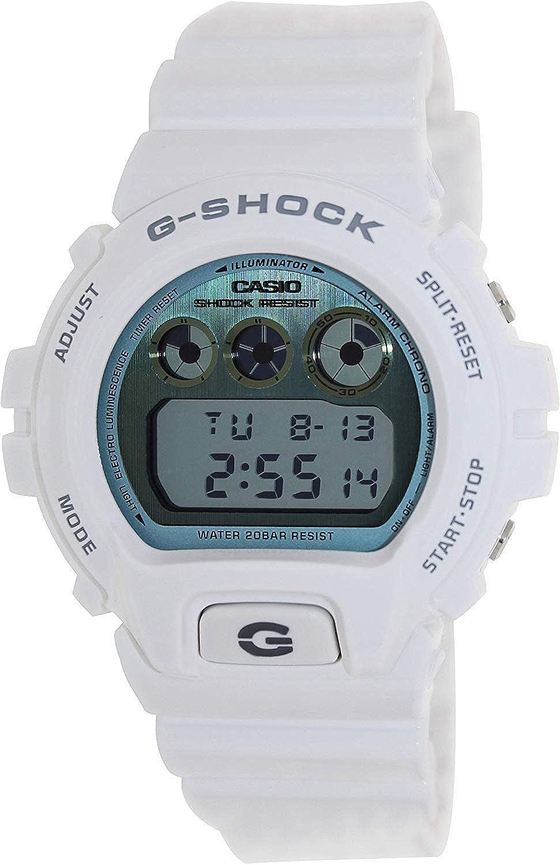 G-Shock Men s 6900 Watch One Size White Watch Casio