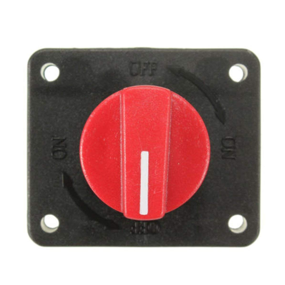 Car Boat Rv 300A Battery Master Disconnect Rotary Cut Off Isolator Switch Black/&Red WEIWEITOE