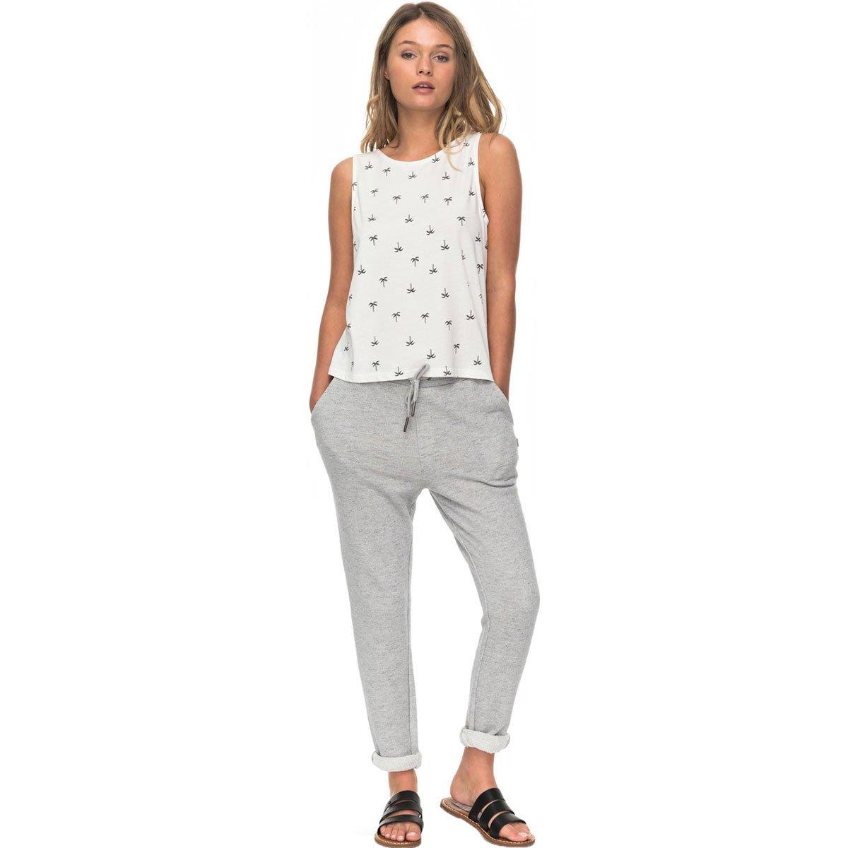 Roxy Women's Trippin Joggers Pants,Medium,Heritage Heather