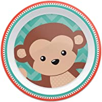 Pratinho Animal Fun - Macaco, Buba, Colorido
