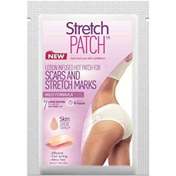 Amazon.com : Stretch Patch MILD Formula, Lotion Infused Hot Patch ...