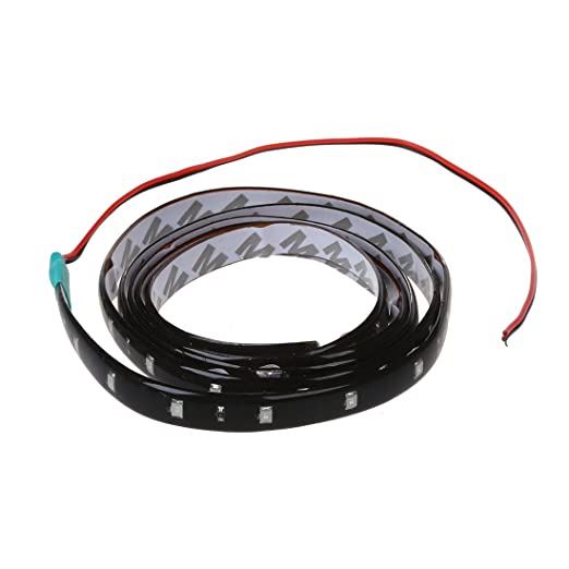 SODIAL(R) 120CM 60 SMD Tira de Luz LED Neon Flexible Impermeable para Coche - Verde: Amazon.es: Hogar