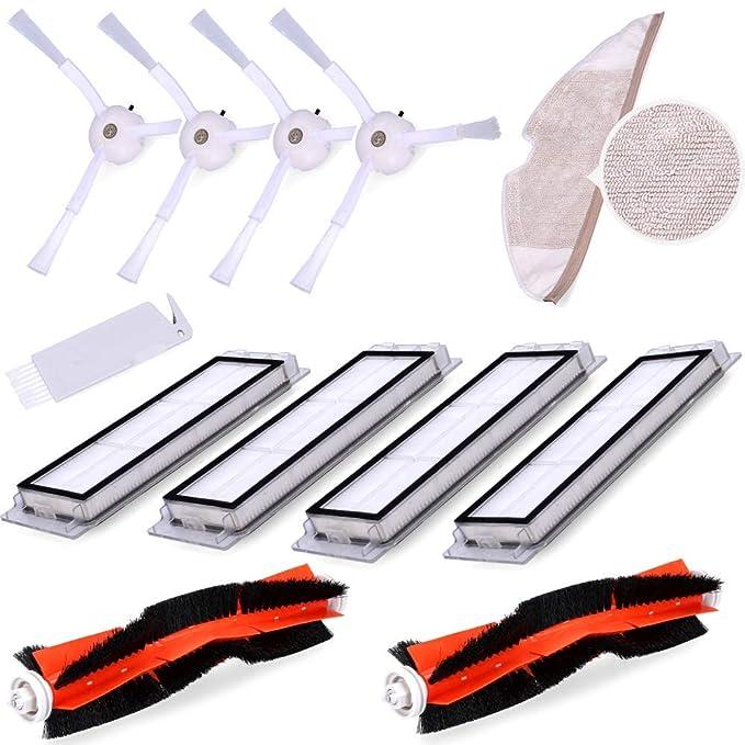 Wessper Kit de Accesorios para Xiaomi Mi Robot Vacuum Cleaner 2 ...