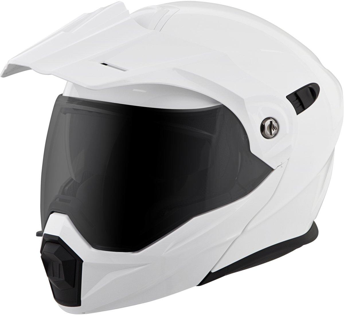 Scorpion EXO-AT950 Helmet - Solid (XXX-LARGE) (WHITE)