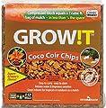 Hydrofarm Plant!t JSCC2 Organic Coco Coir Planting Chips for Plants