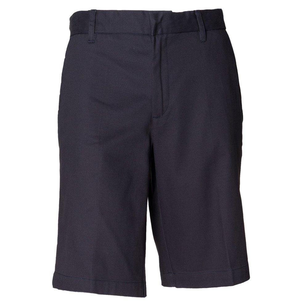 Henbury Womens Teflon coated flat fronted chino shorts H-RALA2015-HB607