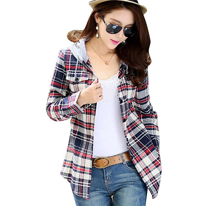 hrph Las mujeres de la moda informal de manga larga con capucha ropa del otoño de