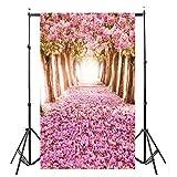 YJYDADA Vinyl Wood Wall Floor Photography Studio Prop Backdrop Background 3x5FT(90X150cm) (H)