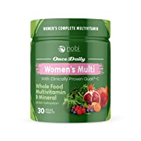 Vegan Multivitamin for Women - Women's Once Daily Whole Food Vitamin Supplement, Women Health, Natural Minerals & Extracts, Gluten, Soy & Dairy Free