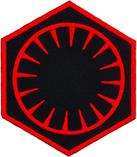 Rebel Alliance Galactic Empire Symbol Star Wars Embroidered Iron-On Sew-On patch