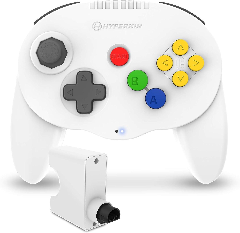 Hyperkin white admiral controller - best Nintendo 64 accessories