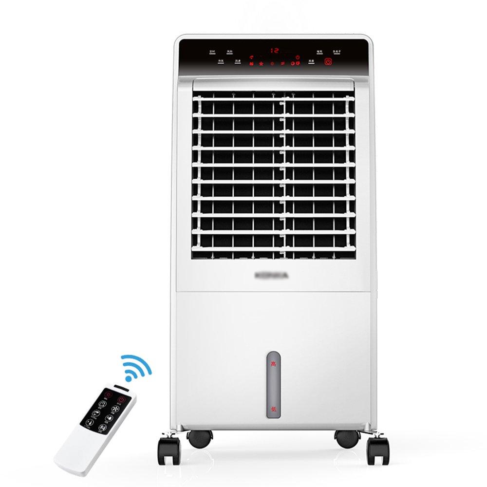 Klimaanlage Ventilator ZHIRONG mit Fernbedienung Warm und Kalt Dual-Use-Klimaanlage Fan Timing Luftkü hler Mobile Electric Fan Mute Kü hlkö rper Portable Purifier LIU