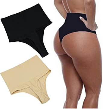 eubell Body Shaper High Waist Tummy Control Butt Lifter Panty Slim T-String Briefs