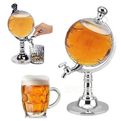 AOLVO - Dispensador de Globo de Gran Capacidad para Bebidas alcohólicas y Whisky, dispensador de