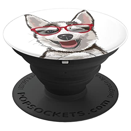 Amazon Com Sketched Cool Husky Dog Popsockets Grip And