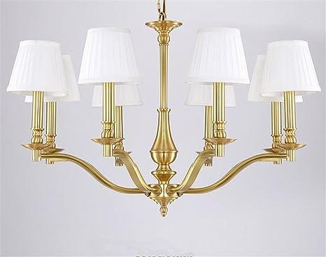 Dkz illuminazione per interni lampadario lampade in rame lampada da