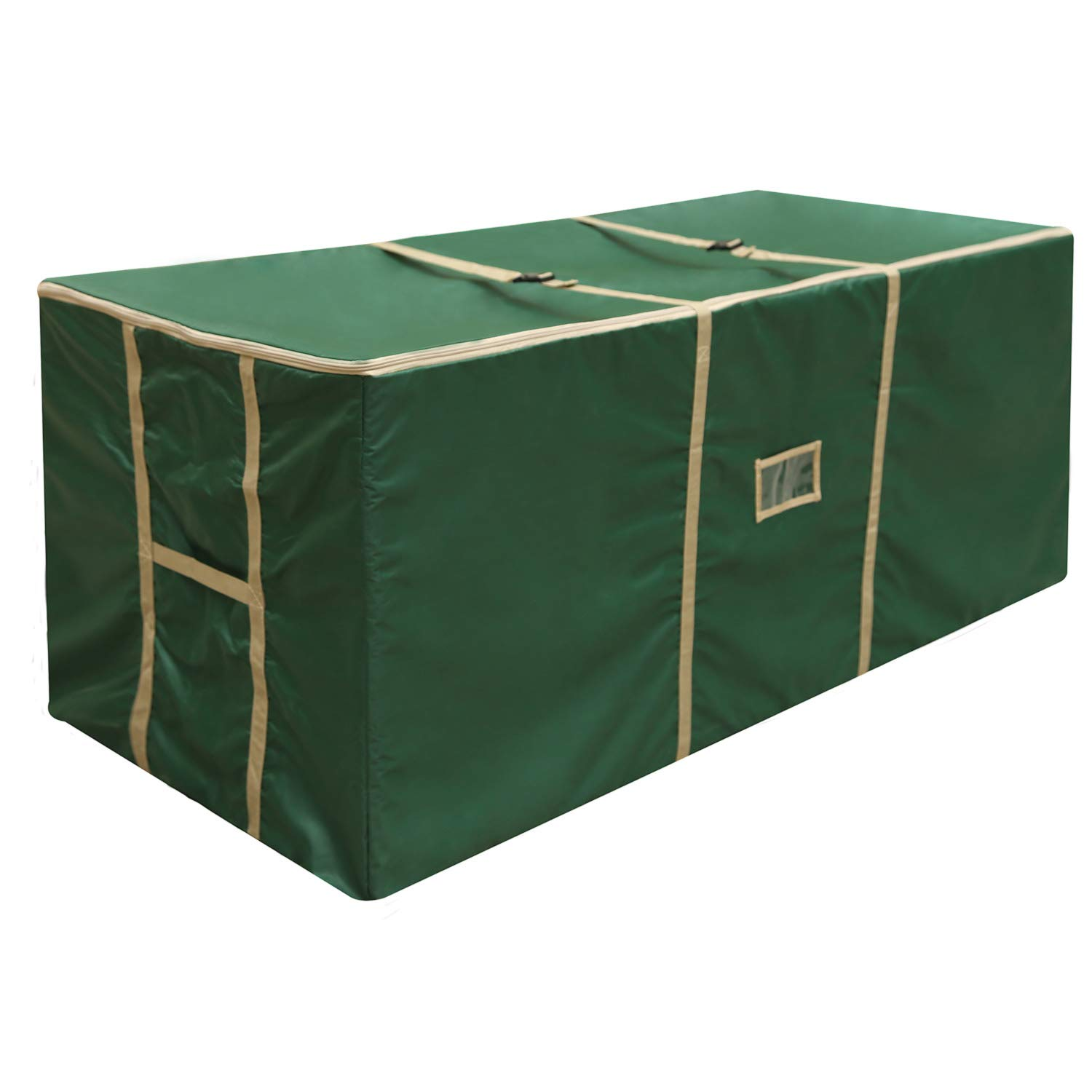 YHCGRE Large Christmas Tree Storage Bag with Carry Handles Extreme Heavy Duty Bag for Storing Large Artificial Xmas Tree and Decorations for Trees up to 9 Feets 59''x 24'' x 24'' by YHCGRE