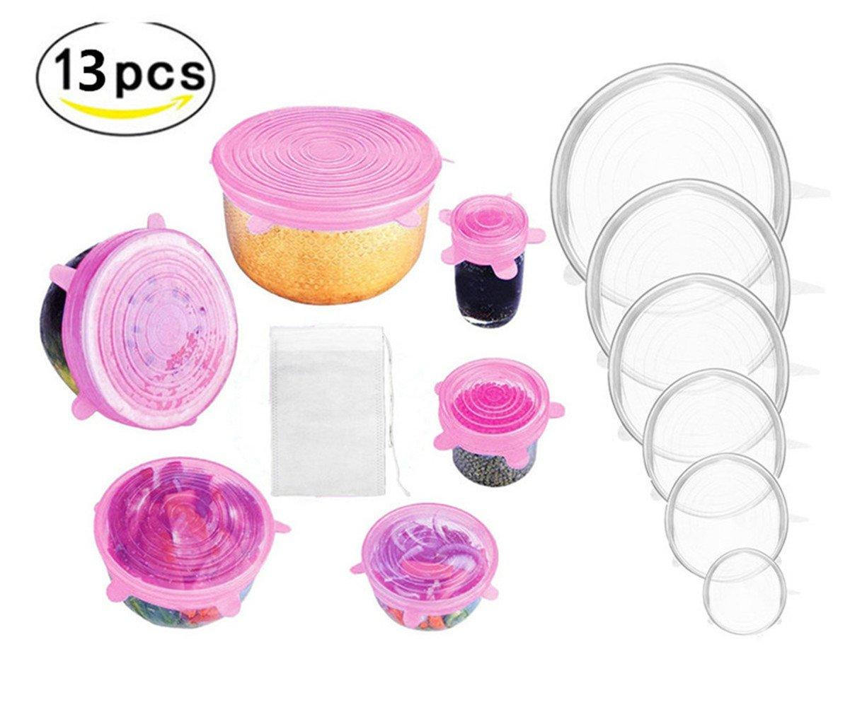 HelLäD - Tapas de silicona elásticas con filtro de especias, 12 ...