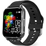 Smartwatch Deportivo, Rastreador de Actividad Física de 1.55 Pulgadas, Pulsera Inteligente, Reloj Inteligente con Monitor de