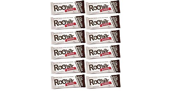 Roobar - Barritas Proteicas Ecológicas - Chía y Chocolate ...