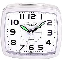 Yadelai Despertador Analógico de Viaje,Reloj de Alarma