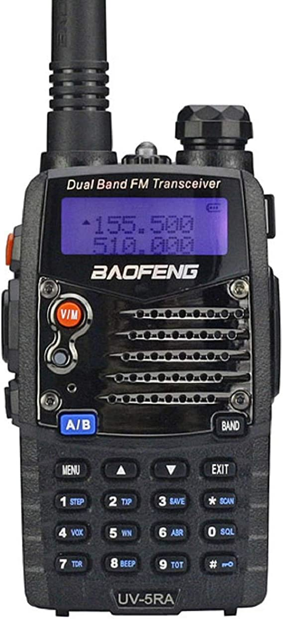 BaoFeng BF-F8 Dual-Band 136-174//400-520 MHz Two-Way Radio Transceiver Black