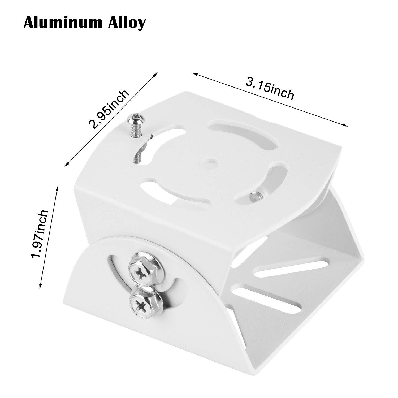 Adjustable Angle Mount for Infant Optics DXR-8, Motorola, Samsung, Babysense, HelloBaby and Most Universal Monitors Camera,Aluminum Alloy Material by Alertcam (Image #9)