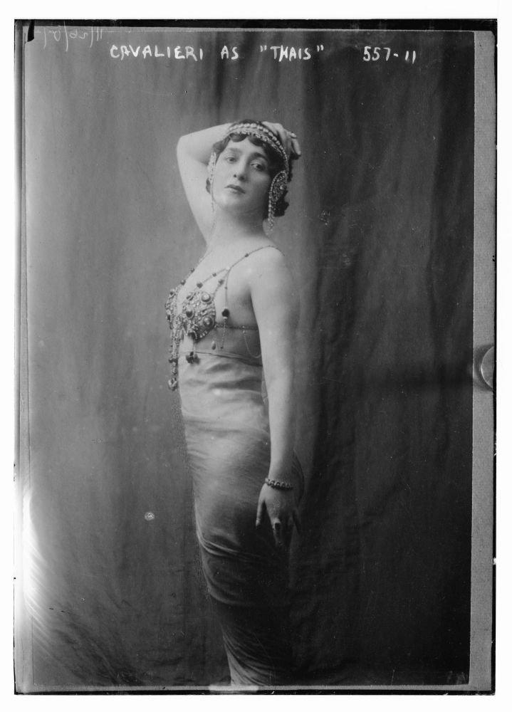 1900 Photo Calalieri as ''Thais'' by Historic Photos
