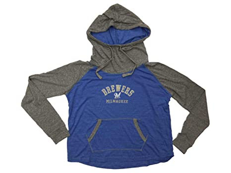 promo code 932d9 5811c Amazon.com : Soft As A Grape Milwaukee Brewers SAAG Women ...