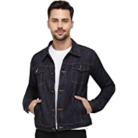 Nick&Jess Mens Light Weight Indigo Denim Trucker Jacket