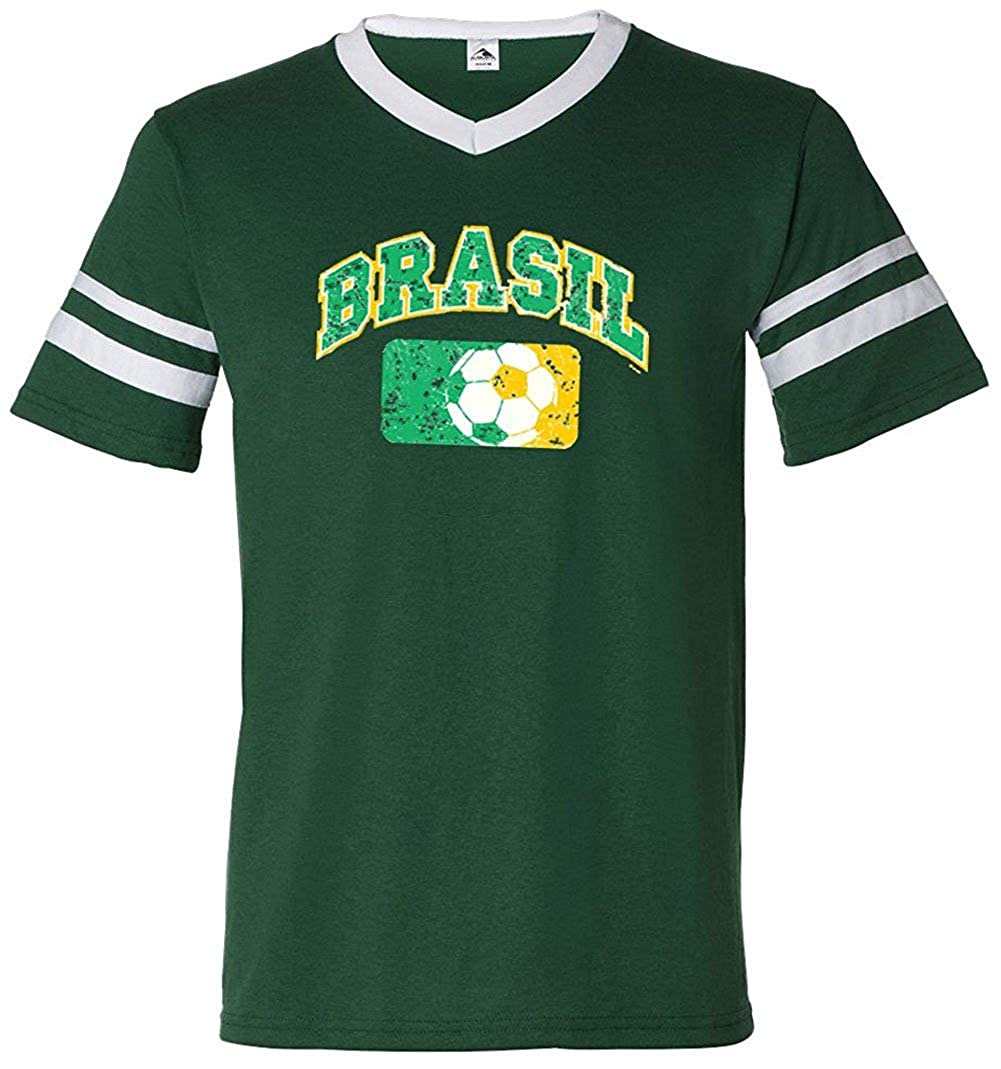 Amazon Ae Designs Brazil Mens Soccer Jersey Shirt Brasil