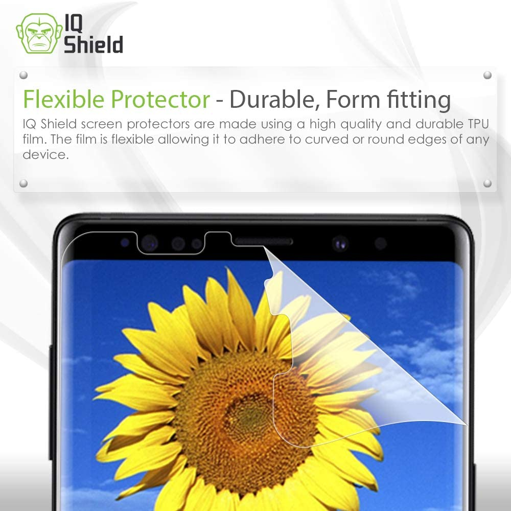 3 Pack Not Tempered Glass Synvy Screen Protector for IZAX Valentino IVL-200-2 TPU Flexible HD Clear Film Protective Protectors
