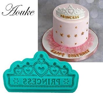 neaer feliz cumpleaños silicona moldes Chocolate Fondant ...