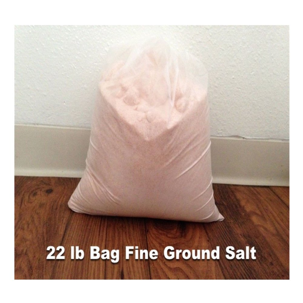 22 Lbs Himalayan Pink Crystal Salts. Pure Himalayan Salt Fine Ground.