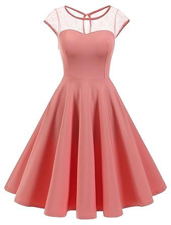 Wedtrend Elegant A-Linie Cocktailkleid Kurz Spitzen Abendkleid für Damen   Amazon.de  Bekleidung 2ea818a1cc