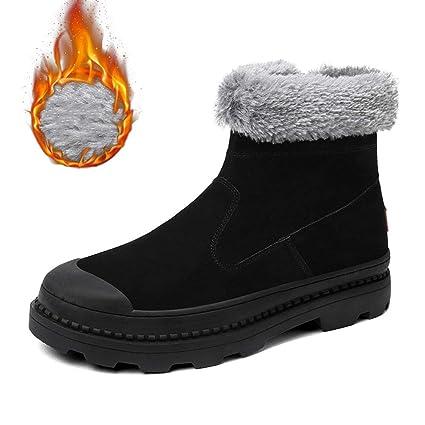 e4415d76f6f Amazon.com : RUI Men's Snow Boots, Spring/Fall / Winter Keep Warm ...