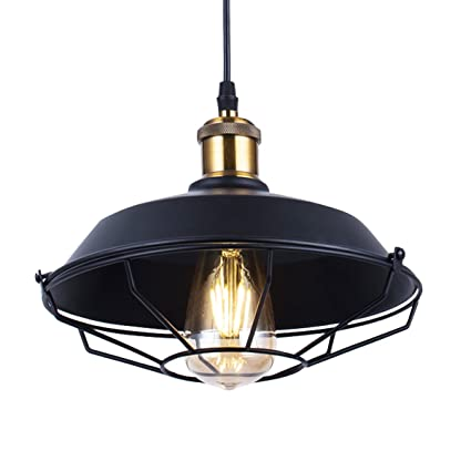 Excellent Vintage Pendant Lamp Shade Farmhouse Lighting Fixture Zhma Hanging Lamp Porch Light Barn Cage Mounted Fixture For Kitchen Dining Room Bedroom Download Free Architecture Designs Xoliawazosbritishbridgeorg