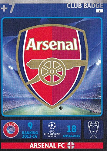 Adrenalyn XL Champions League 2014/2015 Arsenal Club Badge 14/15