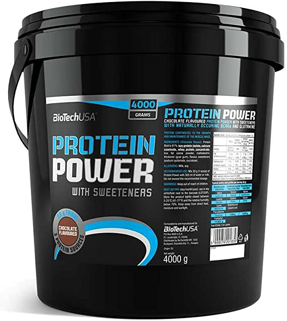 Protein power 4000 g Proteína en polvo strawberry-banana ...