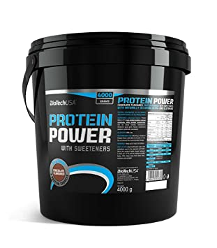 Protein power 4000 g Proteína en polvo strawberry-banana ...