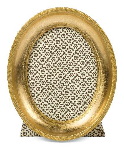 Cavallini Florentine Frames Oval Gold 4 x 5 ()