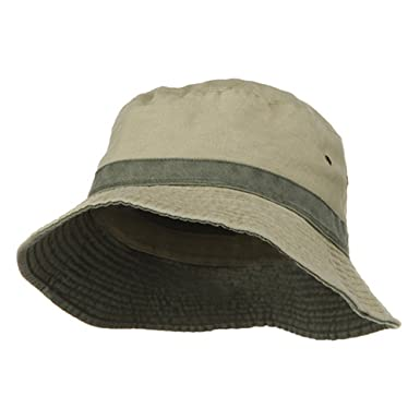 6b8c36b9 Big Size Reversible Bucket Hats at Amazon Men's Clothing store: