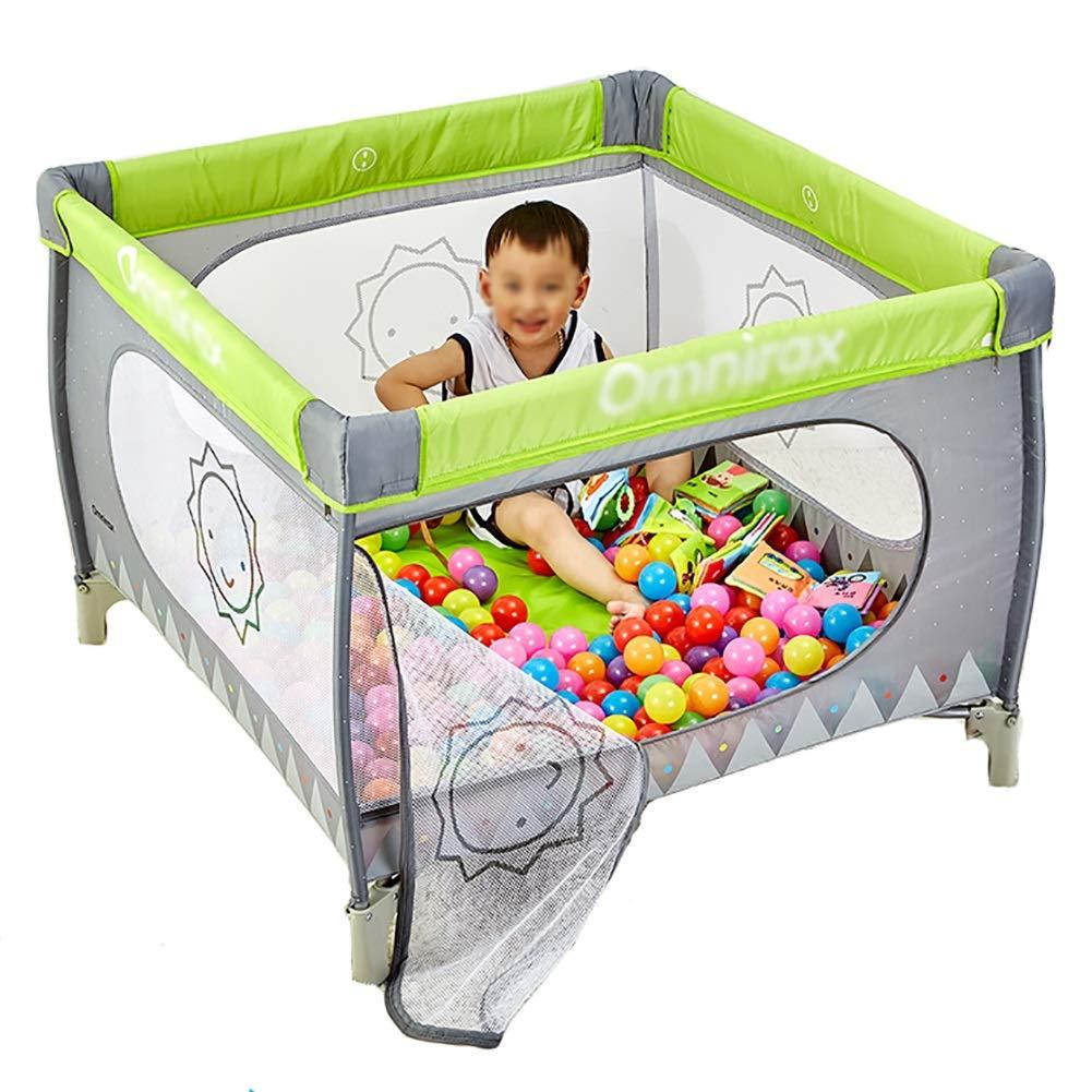 -ベビーサークル 折りたたみ式の頑丈な4刑事Palypen、ポータブル安全な幼児のプレイヤーは、屋内屋外の子供の活動センターをプレイする (色 : Style3)  Style3 B07KXCGPNP