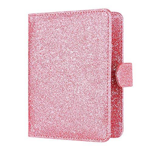 506c727031e7 Amazon.com: Blue Stones Luxury Elegant Women Passport Cover Pink ...