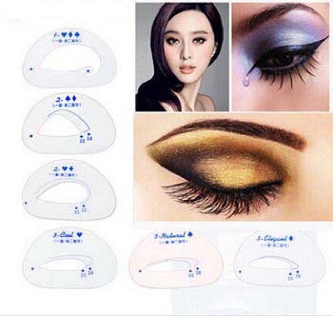 Amazon Com Catyeye Eyeshadow Stamp Stencil Wing Liner By Day