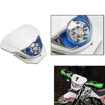 XX ecommerce motocicleta 15 W CREE blanco de calle Suciedad Faro Enduro Super Moto Bicicleta para