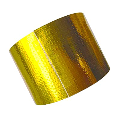 """2"""" x 99' Direst Sale High-Temperature Customized Reflect-A-Gold Heat Reflective Adhesive Backed Tape Roll(5cm x 30m): Automotive"""